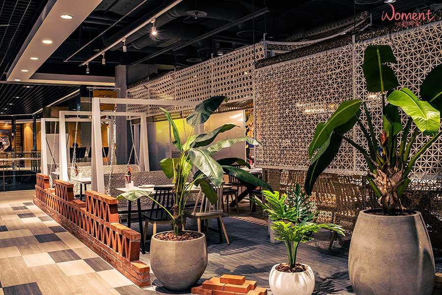 泰國菜推薦泰式餐廳-饗泰多-搖搖椅餐廳,舒適用餐環境