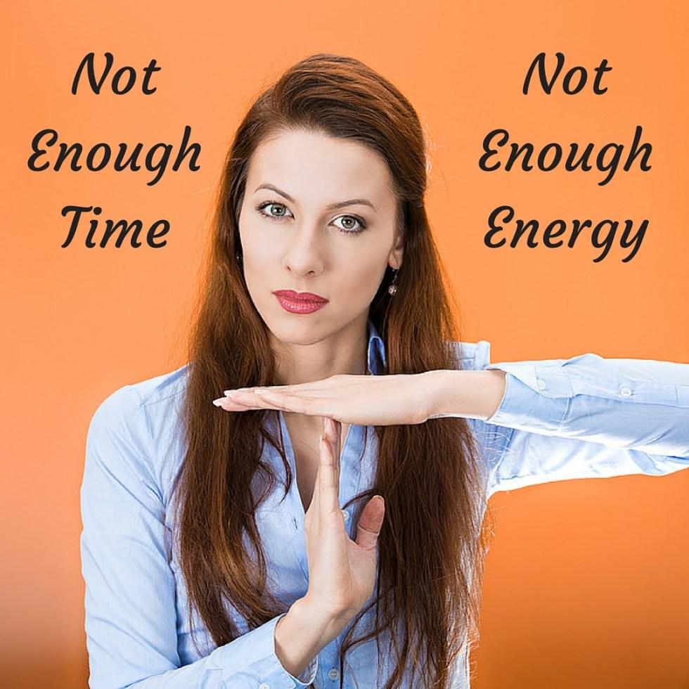 Not enough energy