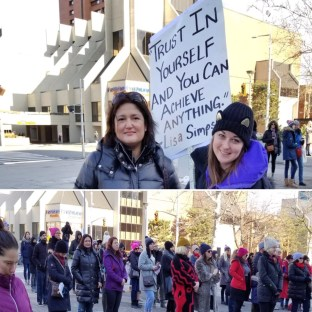 Women's March Hamilton Ontario 20 Jan 2018