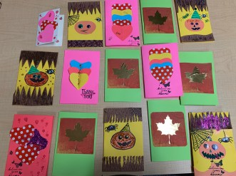 Creative Cards Workshop, crafts, halloween, thanksgiving