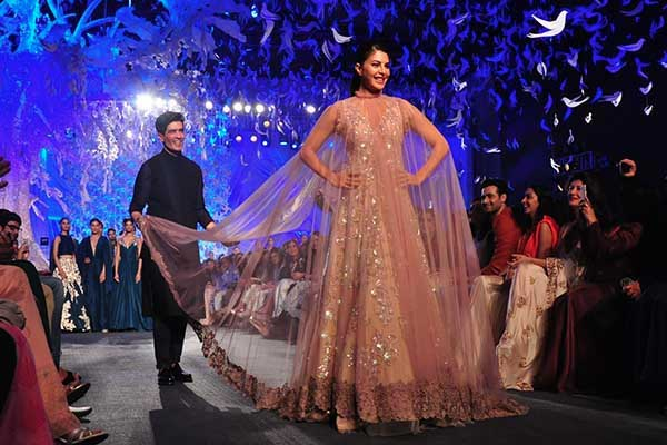 """""""Elements"""" Of Manish Malhotra Collection For LFW Summer"""