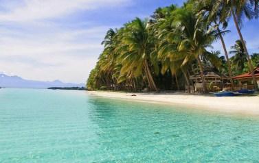 филиппины остров пляж