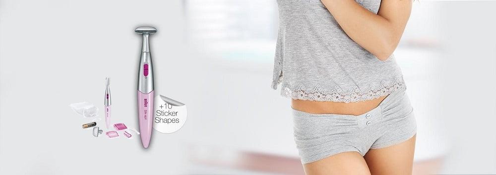 Braun Silk-Epil FG1100 Bikini Hair Electric Shaver, Styler and Trimmer