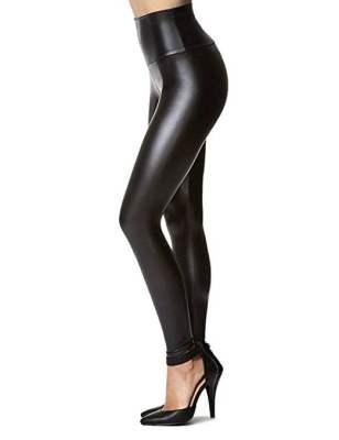 Flattering black leggings 1