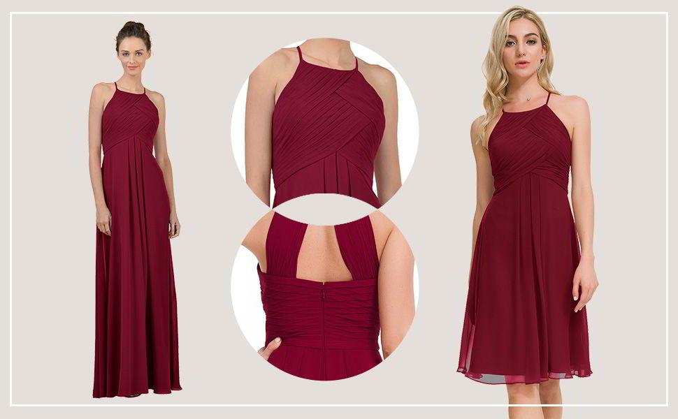 Alicepub Chiffon Cocktail Dress 1