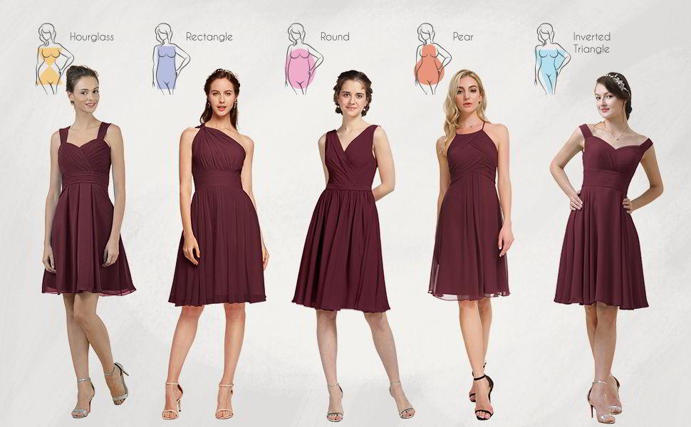 Alicepub Chiffon Cocktail Dress 2