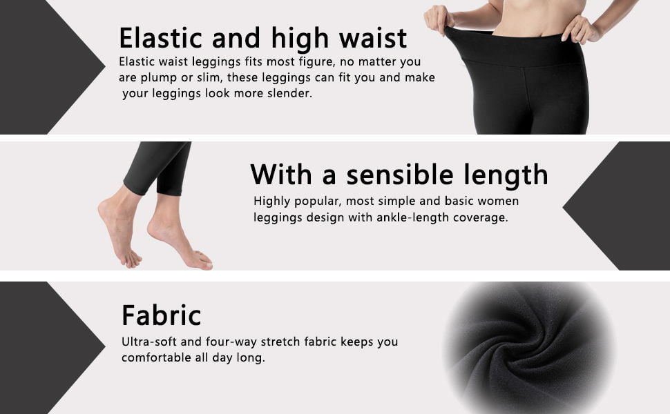 VALANDY Leggings for Women 3