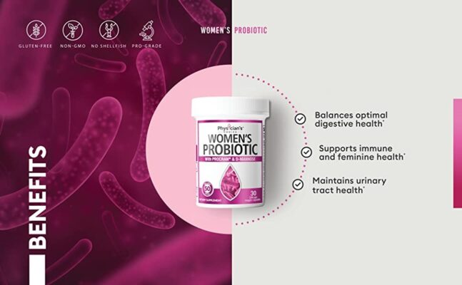 physicians choice best probiotics for women