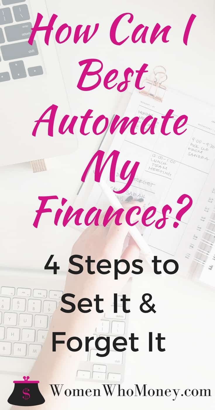 Automation allows you to streamline all of your accounts from savings to retirement and move money where it needs to go without having to think about it every month. Follow our infographic to best automate your finances. #money #billpay #automation #finances #budget