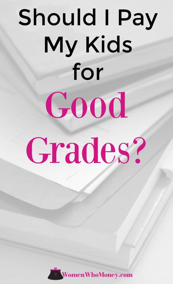 Your kids will be bringing report cards home soon, and you may be getting ready to hand out some cash. And if that isn't the deal you have with your kids, you've probably thought about it at some point. Instead of paying for good grades your money may be better spent doing. #reportcards #kids #school #grades