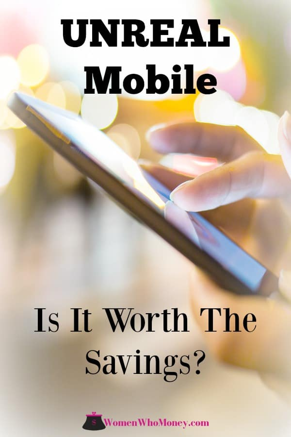 This UNREAL mobile review comes from Vicki, co-founder of Women Who Money. Learn what she thinks of this newer MVNO (Mobile Virtual Network Operator). #mobilephone #cellphone #mobiles #MVNO #UnrealMobile #Unreal #review
