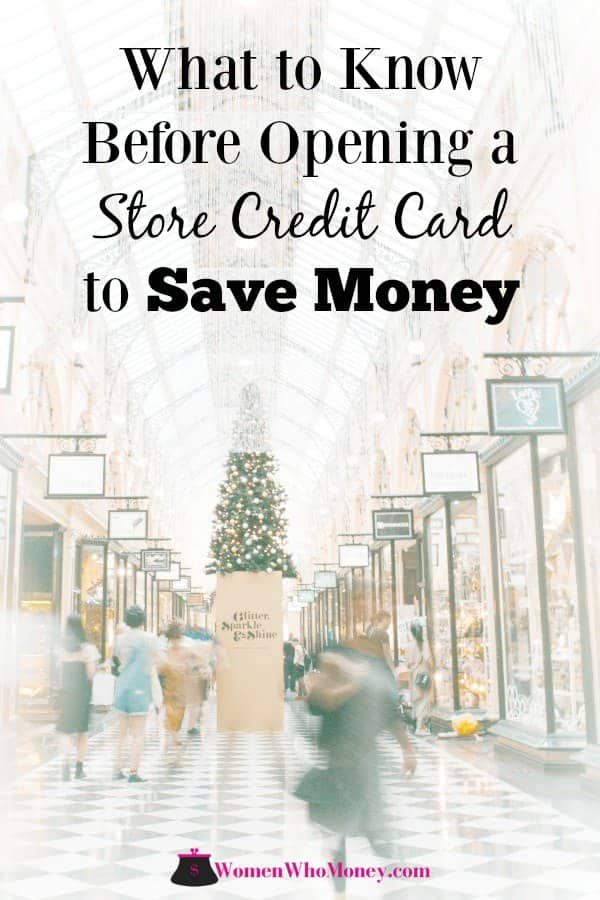 Before you hit the stores for the first round of savings deals, let's take a better look at store credit cards and whether they're a smart money move. #storecreditcards #creditscore #retailers #creditcards #rewardscards #savings #cashback #holidayshopping