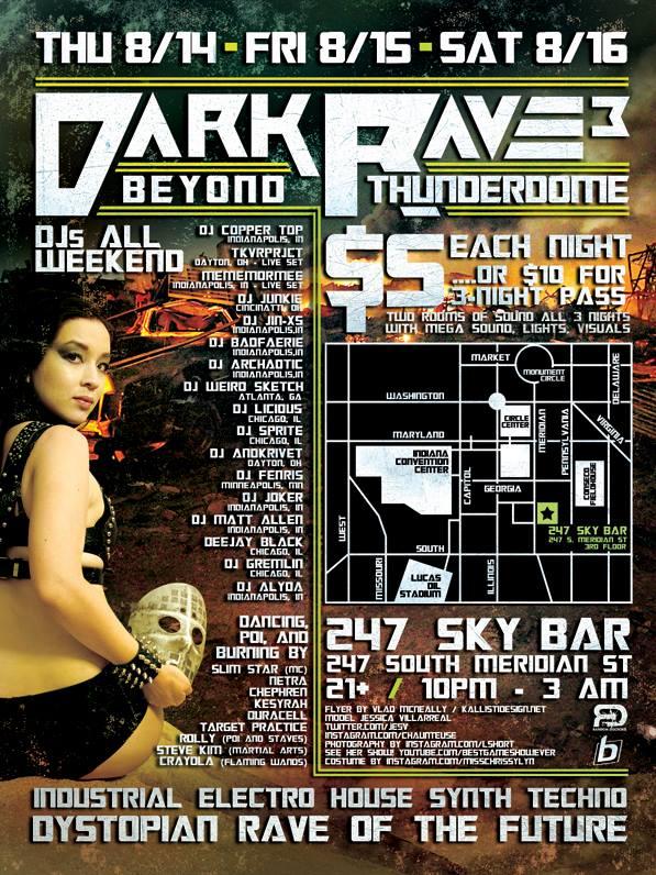 Gretchen Banning Dark Rave 3 August 2014