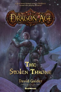 Dragon Age The Stolen Throne by David Gaider Tor Books 2009