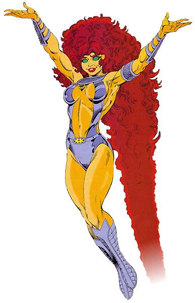 Starfire Teen Titans DC Comics George Perez