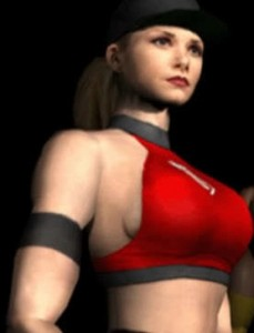 Mortal Kombat 4, Midway, 1997, Sonya Blade in red