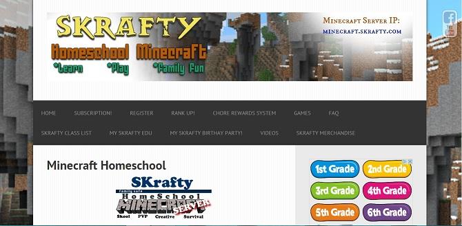 SKrafty Homeschool Minecraft