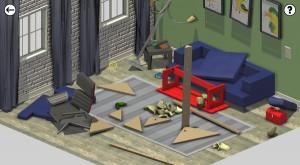 Home Improvisation living room
