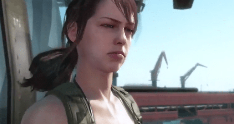 Quiet, Metal Gear Solid: Phantom Pain, Konami, Kojima, 2015, E3 trailer