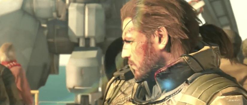 Punished Snake, Metal Gear Solid: Phantom Pain, Konami, Kojima, 2015, E3 trailer