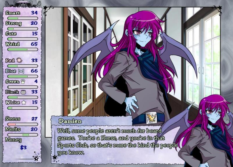 Magical Diary: Horse Hall Hanako Games, Spiky Caterpillar June 19, 2011 PC
