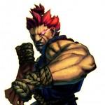 Street Fighter 4, Capcom/Dimps, Capcom, 2008. A redheaded man holds up a fist.