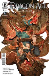 Dragon Age Magekiller #2, Greg Rucka, Dark Horse Comics, 2016