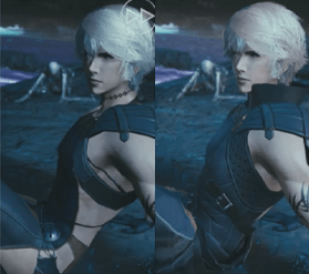 Wol Final Fantasy Mobeus Outfit comparison | http://finalfantasy.wikia.com/wiki/Wol_(Mobius)