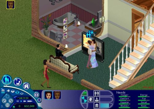 The Sims, Maxis/The Sims Studio, Electronic Arts, 2000