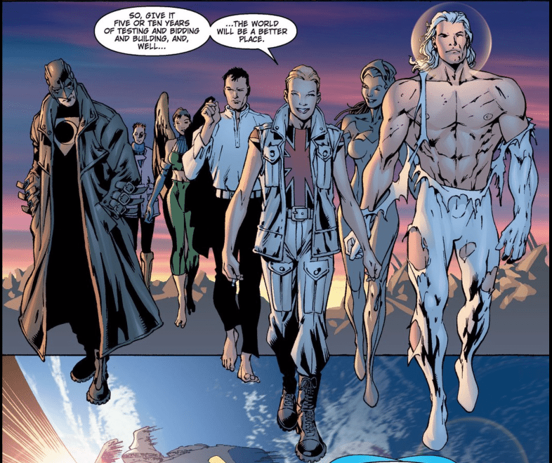 From The Authority by Warren Ellis and Bryan Hitch