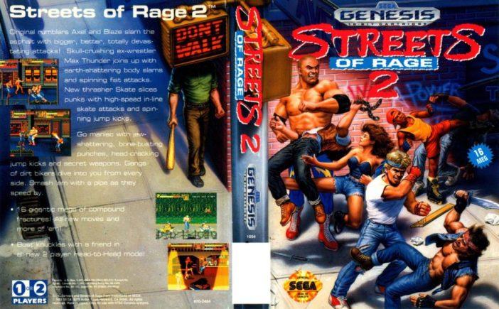 Streets of Rage 2, Sega Genesis,