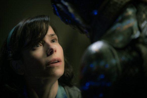 Sally Hawkins and Doug Jones in The Shape of Water - Guillermo del Toro 2017
