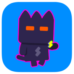 Super Phantom Cat 2, Veewo Games, 2017. Gif from AppAdvice, www.appadvice.com/app/super-phantom-cat-2/1153486225