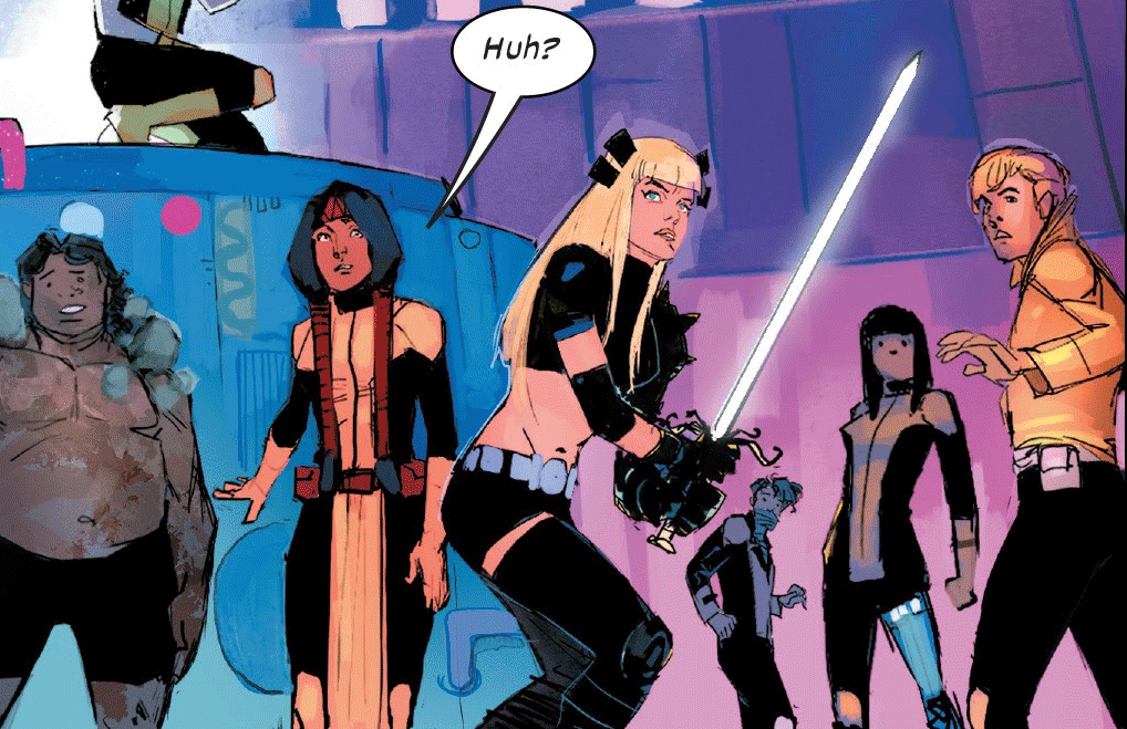 New Mutants from Dawn of X.