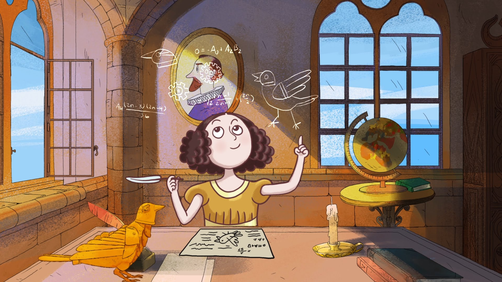 Girl Generation Hd Wallpaper 2015 Animated Short Film Pays Tribute To Ada Lovelace