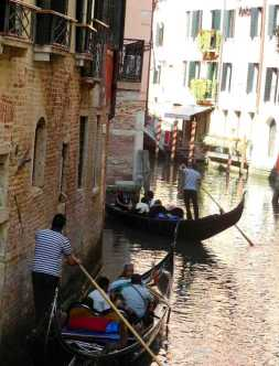 Venedig 17 Gondeln
