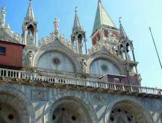 Venedig 32 Venedig Markusplatz - San Marco Dogenpalast 2
