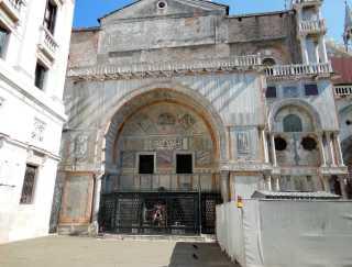 Venedig 32 Venedig Markusplatz - San Marco Dogenpalast 3