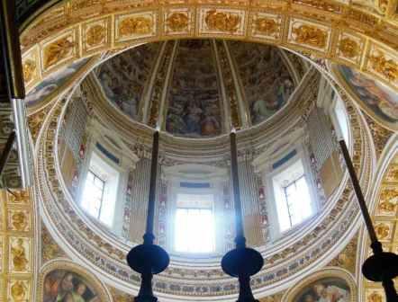 Rom 8 - Santa Maria Maggiore 8 Kuppel