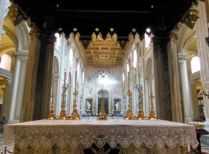 Rom 9 - Lateranbasilika 13 Blickwinkel des Papstes