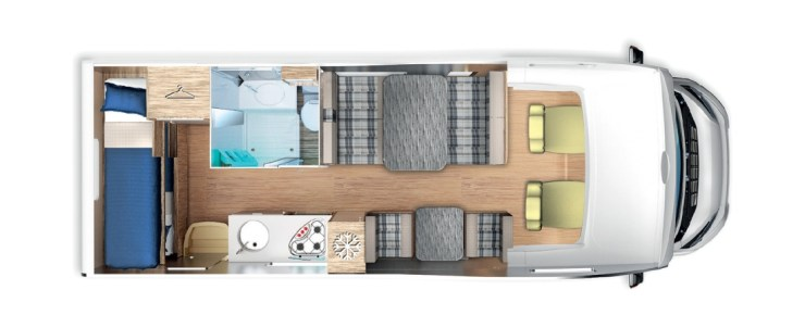 Wohnmobil 6 Schlafplätze