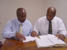 Men mentoring men.