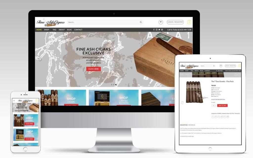Fine Ash Cigar Company | Won Creative