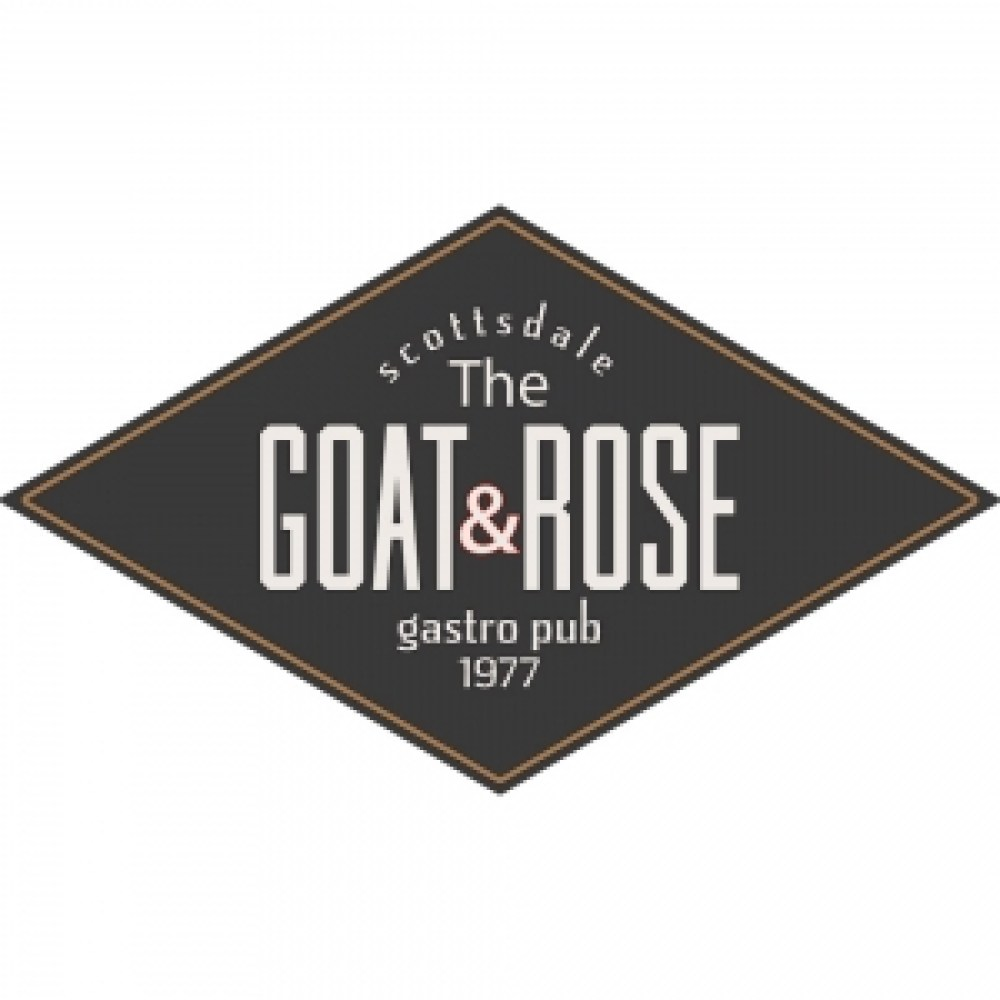 goat and rose logo