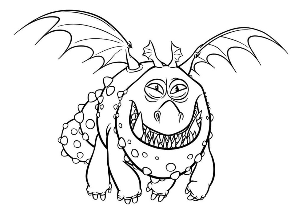 Coloring Pages How To Train Your Dragon 3 Best Collection
