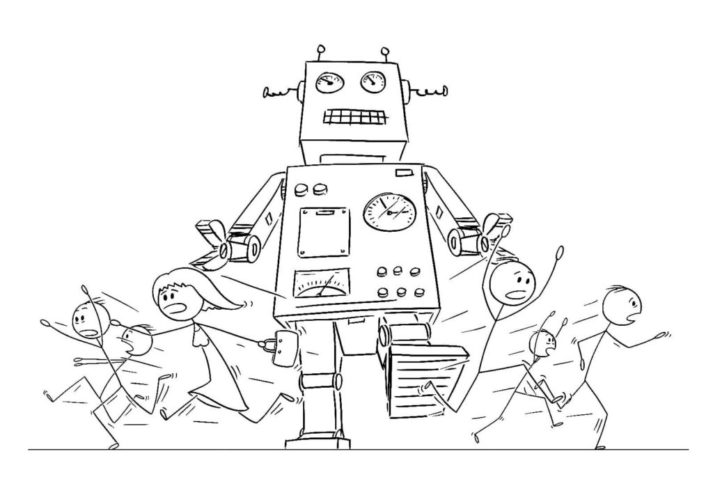 Coloring Pages Robots. Print for free a large collection