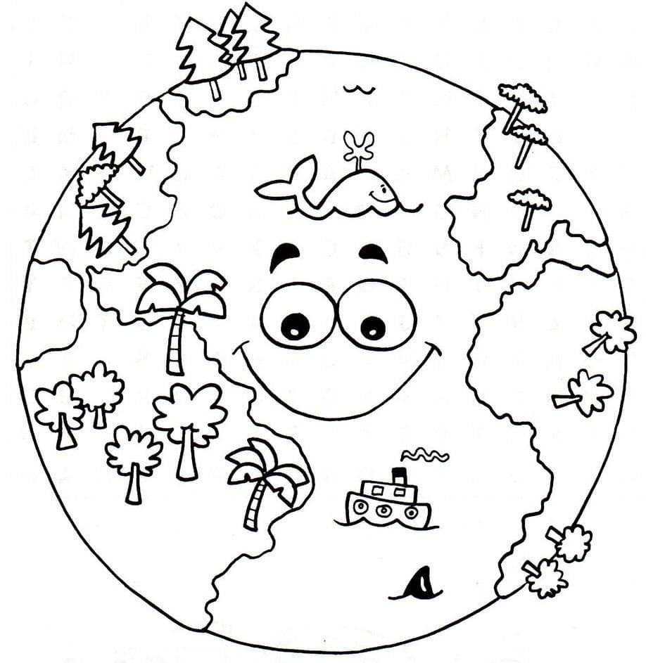 Disegni di Pianeti da Colorare (100 Pezzi). Stampa per bambini
