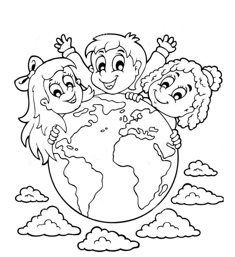 Planets Coloring Pages (100 Pieces). Print free for Kids