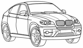 Ausmalbilder Bmw M$  Tag For Bmw cars coloring pages ...