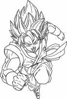 Ausmalbilder Dragon Ball Z. Malvorlagen zum ausdrucken